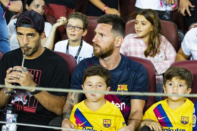 Esp : Rechute pour Messi, il sera absent 1 mois !