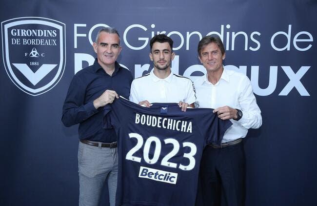 Officiel: Boudechicha signe quatre ans à Bordeaux