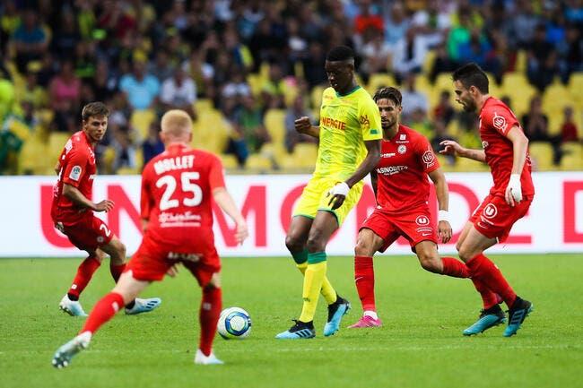 L1 : Nantes et Angers confirment, Dijon s'enfonce