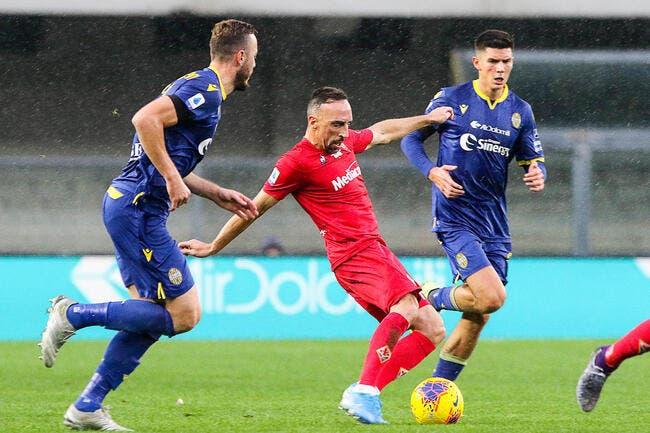 Ita : Sérieuse blessure à la cheville pour Franck Ribéry