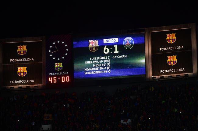 PSG : La remontada du Barça, «l'escroquerie arbitrale» du siècle ?