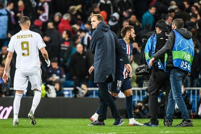 PSG : Neymar a simulé, il était furieux contre Tuchel