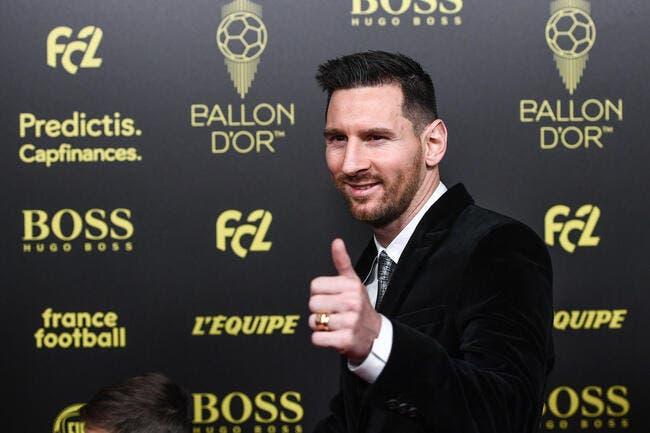 Ballon d'Or : Lionel Messi sacré pour la sixième fois en 2019