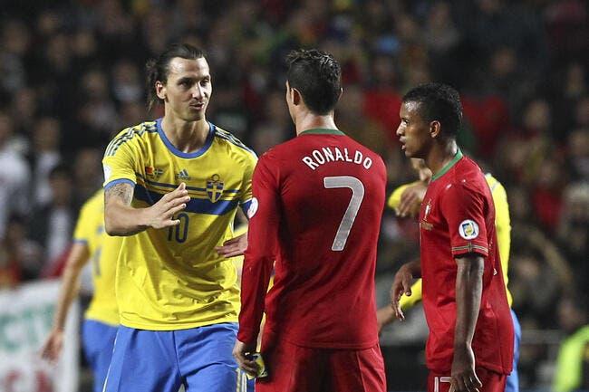 C'est confirmé, Ibrahimovic ne peut pas blairer Cristiano Ronaldo