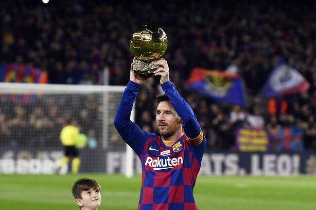 Esp : Messi fête son Ballon d'Or avec un triplé !