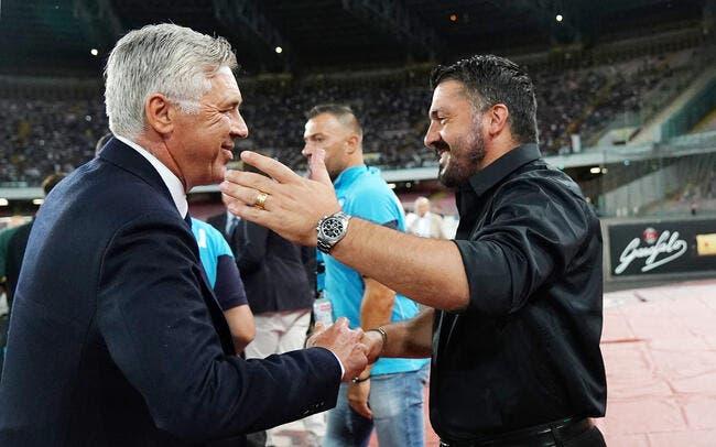 Ita : Gattuso pour remplacer Ancelotti, Naples sur un volcan !