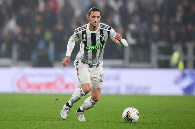 Mercato : Adrien et Véronique Rabiot prêts à larguer la Juventus ?