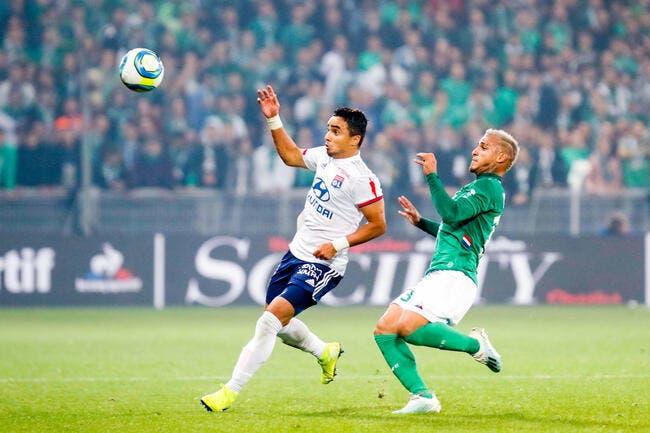OL : Le groupe avec Rafael contre Leipzig
