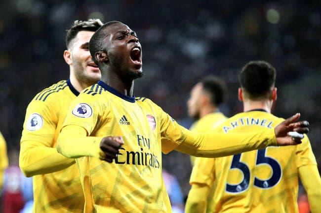 PL : Pépé et Aubameyang sonnent le réveil d'Arsenal !