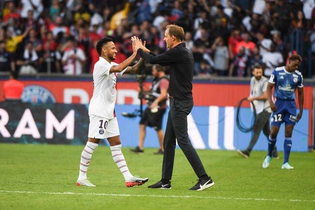 PSG : Neymar et Tuchel, c'est « je t'aime, moi aussi » à Paris