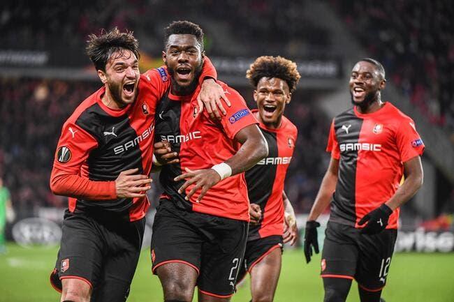 EL : Rennes sauve l'honneur avec Gnagnon, mais c'est trop tard