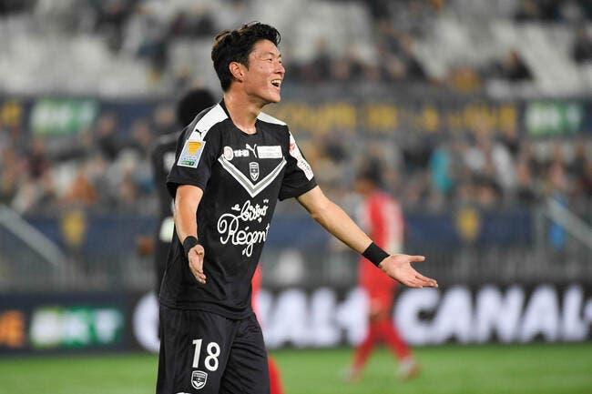 FCGB: La Corée du Sud prive Bordeaux de son attaquant jusqu'en 2020