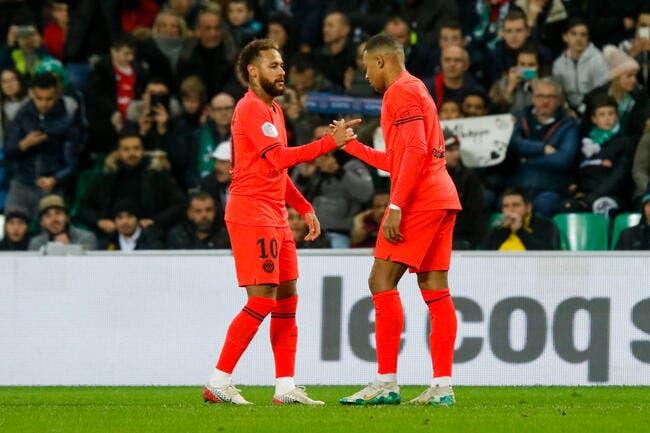 L1 : 4-0 contre l'ASSE, un doublé pour Mbappé, c'est déjà Noël au PSG !
