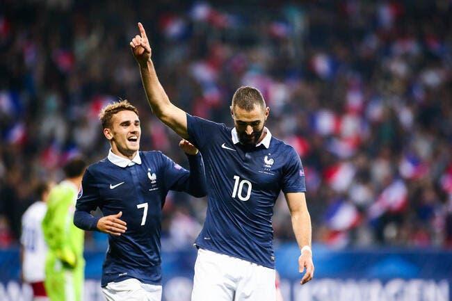 EdF : Griezmann adulé en France et pas Benzema, il ne comprend pas