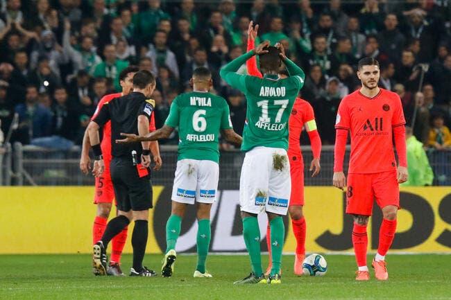 ASSE : Aholou suspendu 3 matchs, un scandale ?