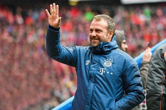 All : Flick reste coach du Bayern Munich jusqu'en fin de saison