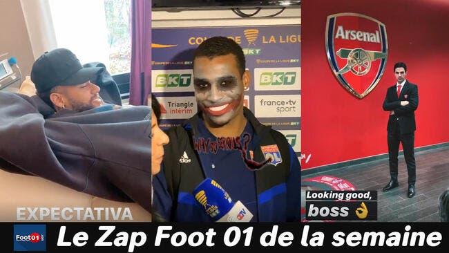 WTF :  Neymar aux petits soins, Lyon rigole quand même