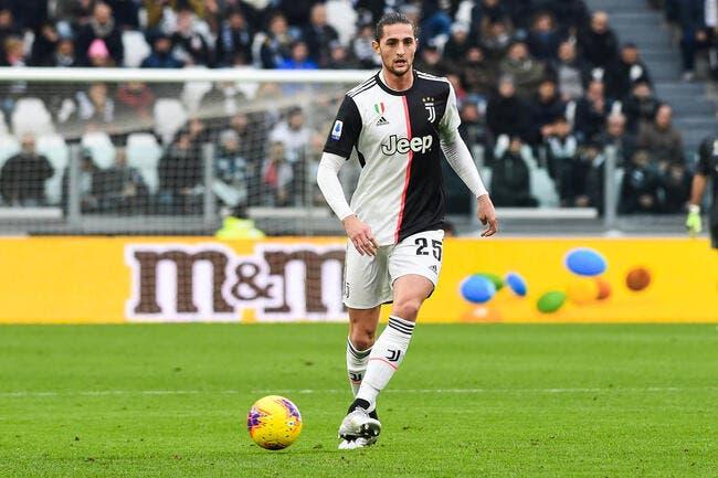 OL : Rabiot à Lyon, la Juventus répond à Juninho