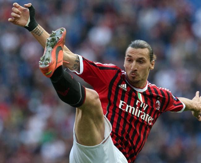 Ita : Zlatan Ibrahimovic de retour à l'AC Milan (officiel)