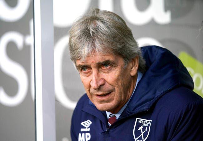 Ang : West Ham limoge Manuel Pellegrini