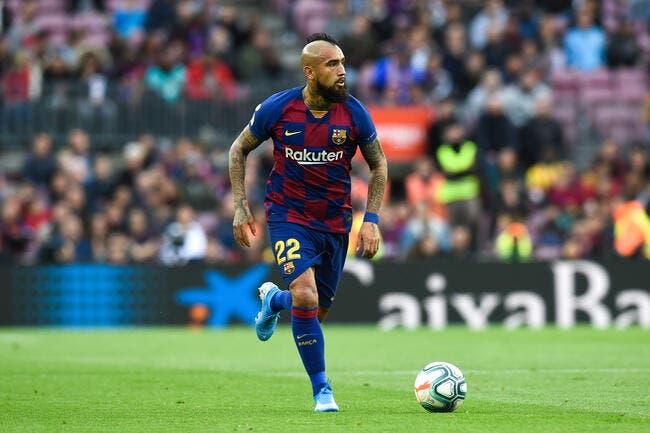 Barça: Vidal réclame plus de 2 millions d'euros d'impayés au club