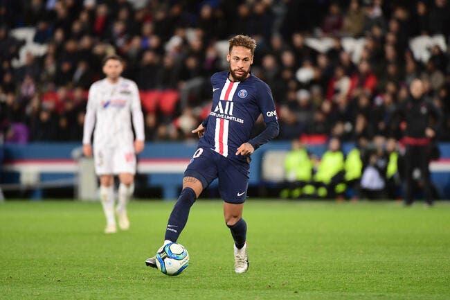 PSG : Neymar protégé par les arbitres, un chiffre dit l'inverse