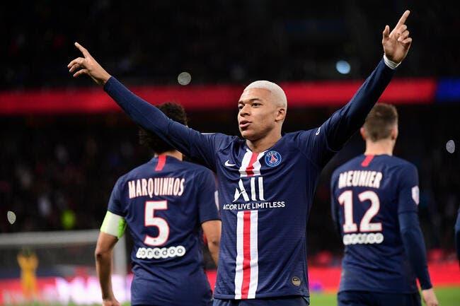 PSG : Sur le toit de l'Europe, il kiffe Kylian Mbappé