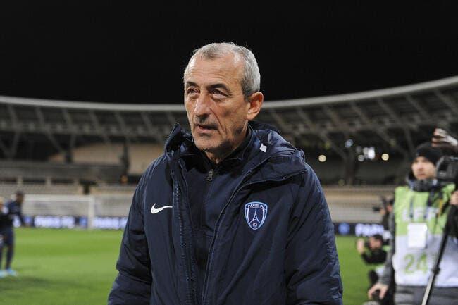 L2 : Bazdarevic n'est plus l'entraîneur du Paris FC