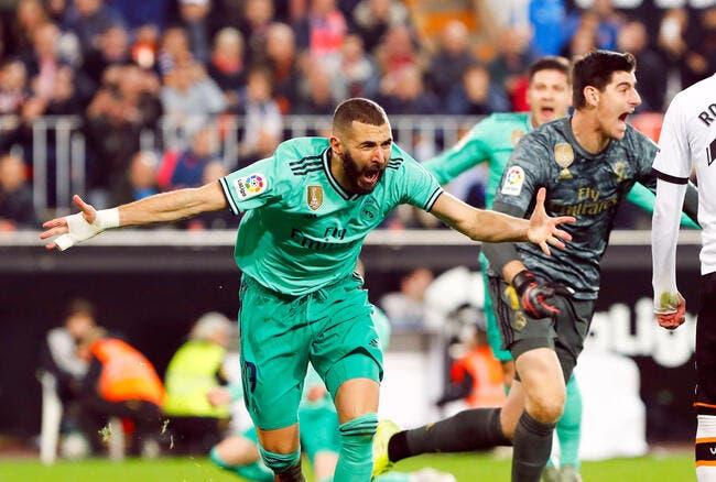 Esp : La blessure mystique de Benzema enflamme l'Espagne !