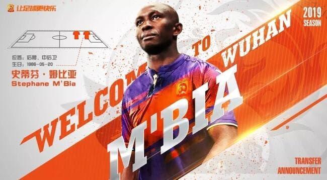 Mercato : Stéphane Mbia signe en Chine