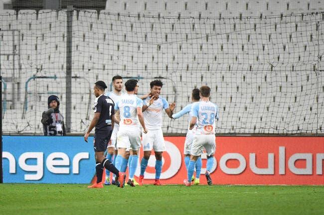 L1 : Un stade vide, mais l'OM fait le plein face à Bordeaux