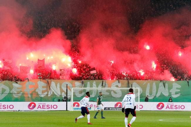 ASSE : Fermeture partielle de deux tribunes de Geoffroy-Guichard suite au derby