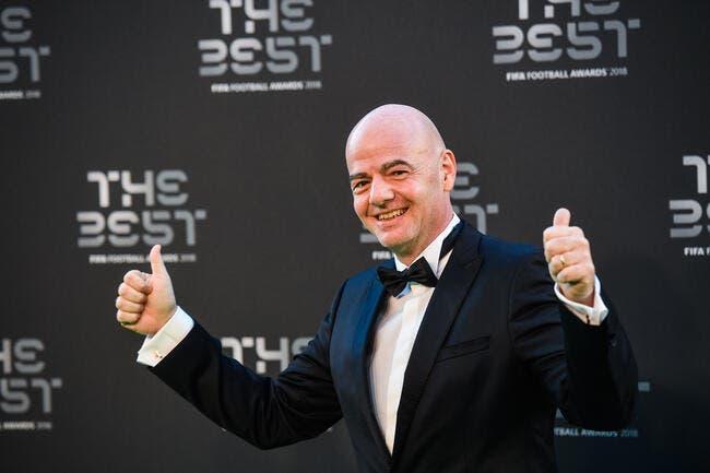 FIFA : Infantino seul candidat à sa succession, la FIFA confirme