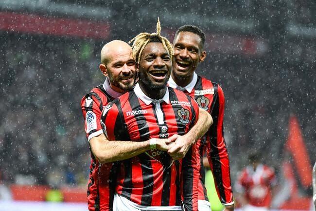 Nice: Le Milan AC fait craquer le Gym, Saint-Maximin savoure déjà