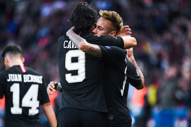 PSG : Neymar et Cavani, 15 minutes et un bisou qui changent tout