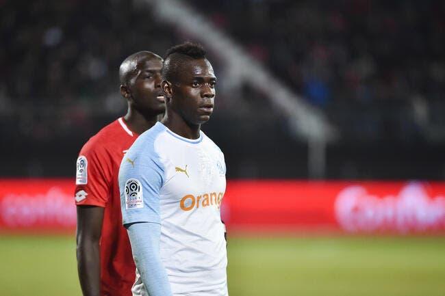 L1 : L'OM enchaîne enfin à Dijon, merci Balotelli !