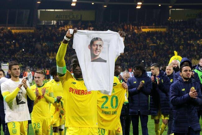 FCN : Nantes-Nîmes à guichets fermés pour l'hommage à Emiliano Sala