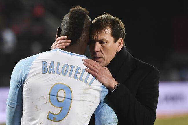 OM : Balotelli a probablement sauvé Rudi Garcia en une phrase