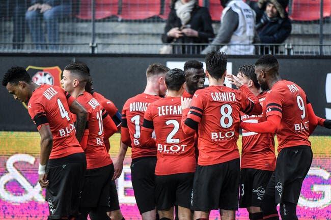 L1 : Rennes met l'ASSE au tapis, Lille gagne encore