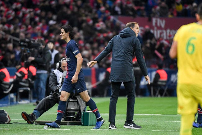 PSG : Cavani forfait contre Man Utd, Tuchel le confirme presque