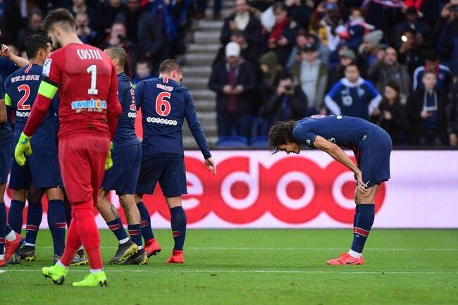 PSG : Cavani officiellement forfait, il souffre d'une lésion d'un tendon de la hanche