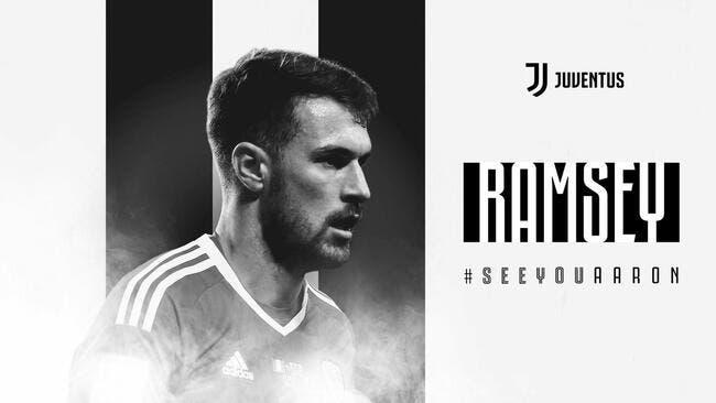 C'est fait pour Ramsey ! (officiel) — Juventus