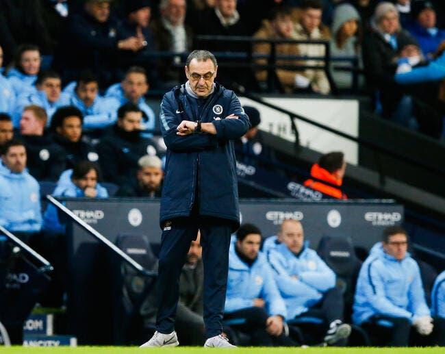 Chelsea : Gros coup de pression sur Sarri, il joue son poste