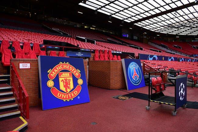 LdC: Manchester United – Paris SG: les compos (21h00 sur RMC 1)
