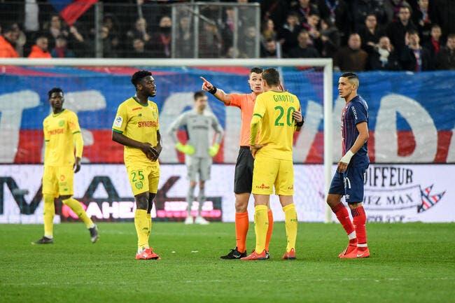 L1 : À 10, Nantes enfonce Caen dans la zone rouge