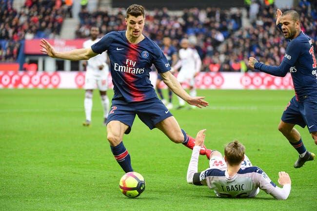 PSG : Thomas Meunier encore forfait contre l'ASSE