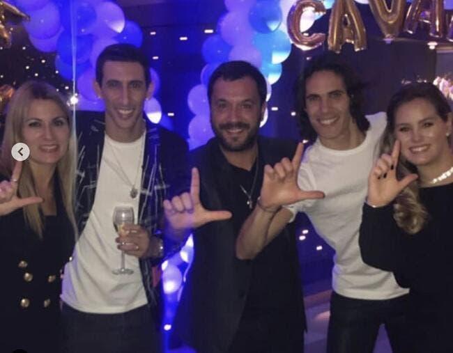 PSG : Un anniversaire ? Neymar débarque chez Cavani et Di Maria