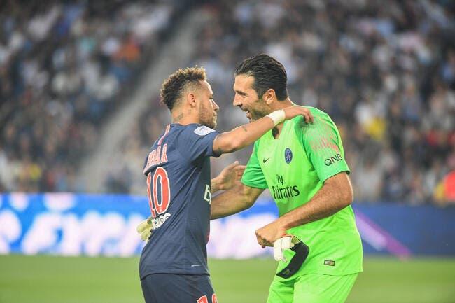 PSG: Neymar a promis de réaliser le rêve de Buffon à Paris