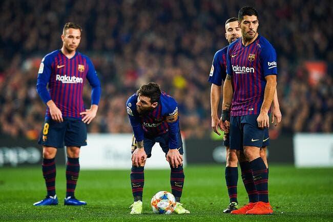 Esp : Une petit victoire du Barça avant d'aller à Lyon