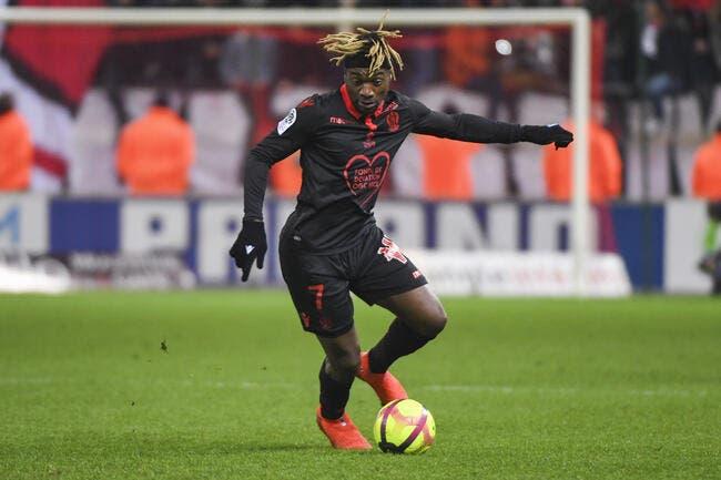Nice : Saint-Maximin répond à l'attaque brutale de Vieira